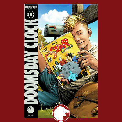 Doomsday Clock #10 B Variant Gary Frank Cover 1st Print