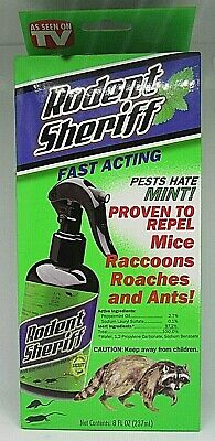 Rodent Sheriff RDS00012 Animal Repellent, 8 Oz