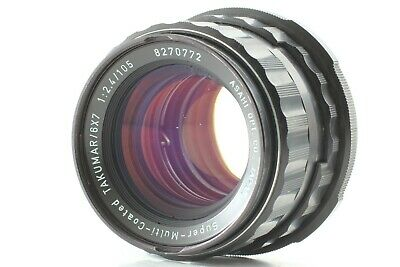 【As-is】 Pentax 6x7 SMC Takumar 105mm F2.4 Lens For 6x7 67 67II From JAPAN #271