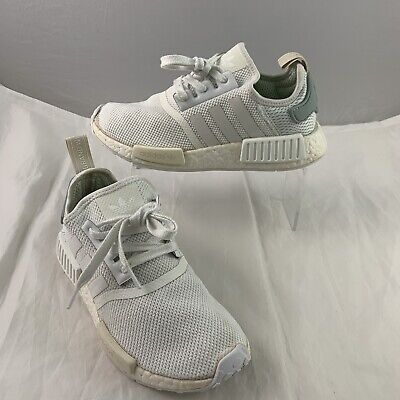 ADIDAS NMD R1 Runner Nomad White Tactile Green UK 5 Boost