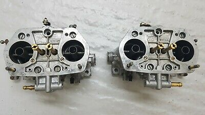 Genuine Weber IDF 40 Twin Carbs matched pair