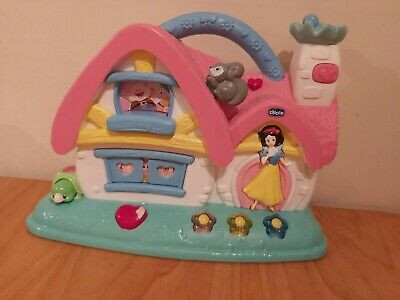 Chicco Snow White Princess Musical Cottage Toy Activity Baby House Disney Girls