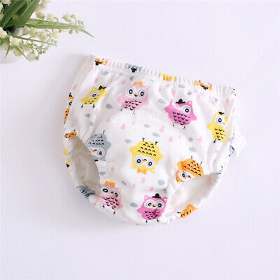 Toddler Baby Diaper Spring Newborn Pants Fashion Breathable Absorbent Cartoon