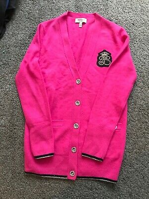 Juicy Couture Girls Pink Cardigan Age 8-10 Yrs