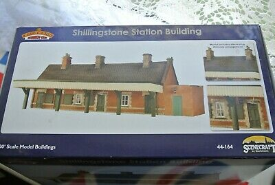 Bachmann Scenecraft  44-164 Shillingstone Station. New and Unused!