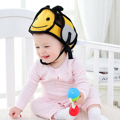Baby Toddler Infant Safety Helmet Head Protector Cartoon Child Kids Adjustable