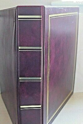 ARROWFILE Classic Binder Album ~ 40+ Various Asst Pages ~ For Stamps Etc.