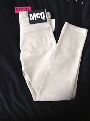 Brand New With Tags Mens Genuine Alexander Mcqueen Skinny Jeans Size  32