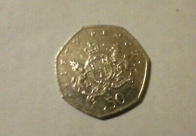 2013 Christopher Ironside 50p coin, circulated - Highly Collectable nice coin