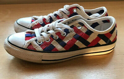 ladies converse size 5 used Red, White And Blue.