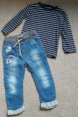 Boys 18-24 Months Next Outfit Jeans And Top