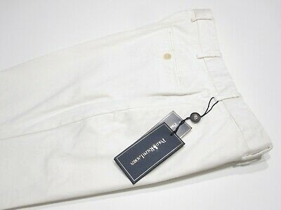BNWT Polo Ralph Lauren by Incotex White Preppy Chinos Pants Trousers 40x34 #1