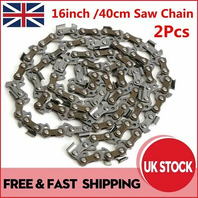 """16/"""" Chainsaw Chain Fits Qualcast GCS400 PC40 40cm With 57 Drive Links THE BEST!"""