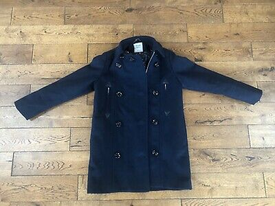 Next Girls Navy Blue Coat Jacket Age 12. Immaculate condition.