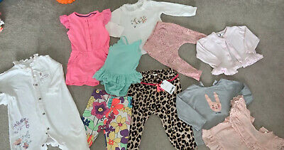 Baby Girl Bundle 6-9 Months Mostly Next Zara Excellent Condition Pants Are BNWT