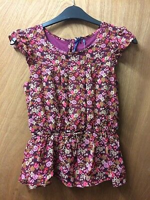 💖 Age 10 Years Old Next Girls Pretty Floral Blouse BNWT 💖