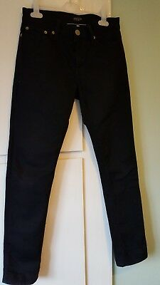 Boys River Island slim black jeans size 26/30