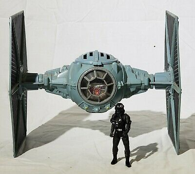 1995 Vintage Star Wars Tie Fighter Action Vehicle With pilot!