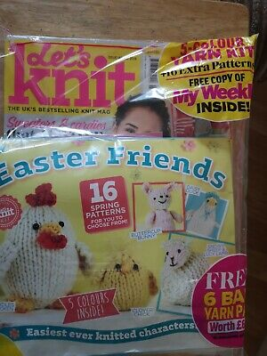 Let's knit with Easter friends to make kit edition unstarted good condition