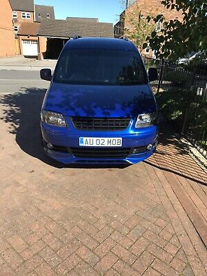 Highly Modified VW Caddy 2.0 tdi 2008