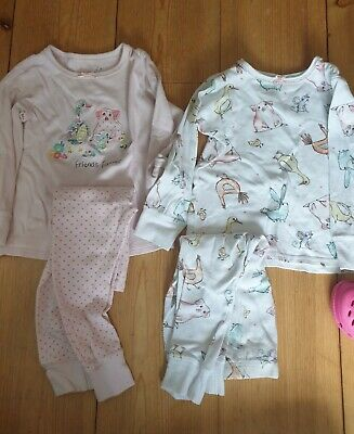 NEXT TWO Girls  Pyjamas Age 2-3 Years