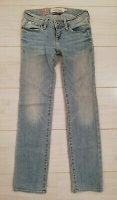 Abercrombie Girls Blue Jeans Age 8