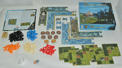 Domaine Strategy Board Game From Catan Designer 2003 Out of Print - Complete!