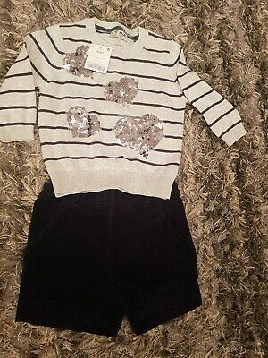 Girls Outfit Shorts Next Age 3-4