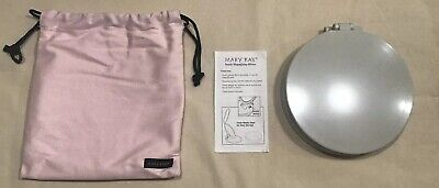 New Mark Kay LED Makeup Magnfing Mirror With Carry Pouch