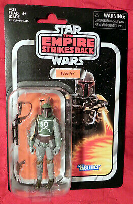Star Wars 3.75 Vintage Collection BOBA FETT VC09 Reissue 2019 Dmgd Pkg See Pics