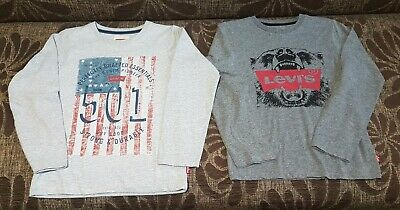 Boys Levi's Levi Strauss Long Sleeve Tops, Size 8 Years, Excellent Condition