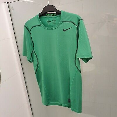 Mens Nike Pro Hypercool Dri-FitGym/Running Top - Size Small - Spring Leaf Green
