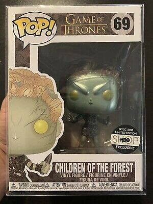Funko Pop Game of Thrones Metallic Children of the Forest HBO Exclusive NM
