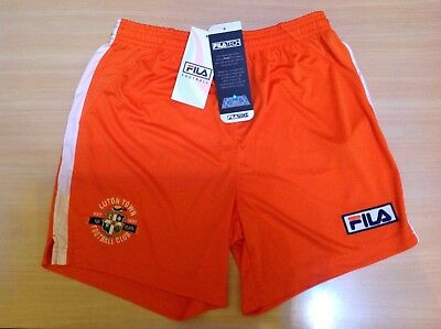 Boys Fila Luton Football Club Shorts Orange size L RRP £15.00