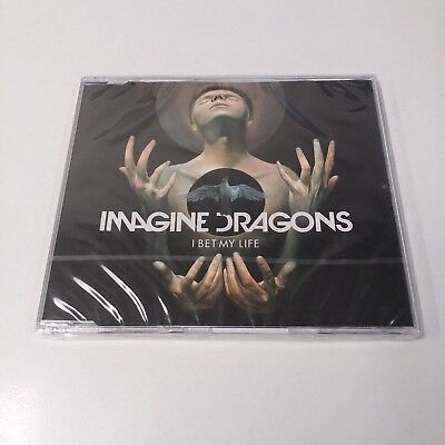IMAGINE DRAGONS I Bet My Life CD Single 2 Tracks BRAND NEW FACTORY SEALED