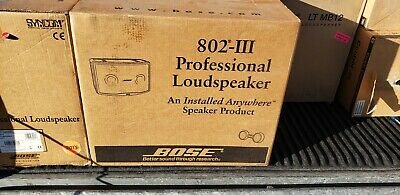 BOSE 802 PANARAY SERIES III brand new!!!