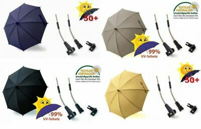 Baby Toddler Sun Umbrella Deluxe Canopy with UV Protection 50+ for Pram ...