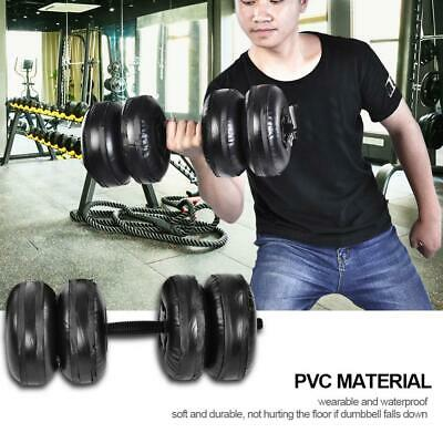 Weight Hand Weights Set Bodybuilding Exercise Equipments Water Dumbbells Kit
