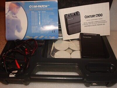 Century 2100 TENS Unit Dual Channel With Timer - Great Condition