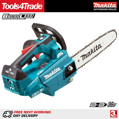 Makita DUC306Z Twin 36V Li-ion Brushless 30cm Chainsaw Body Only