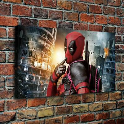 Deadpool HD Canvas prints Painting Home decor Pictures room Wall art Posters