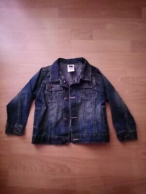 Kids Boys Girls Denim Jacket Age 2-3 Years