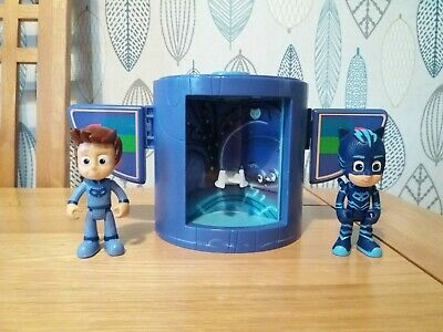 PJ Masks Catboy Transforming Tower Playset & Figures. Catboy & Connor. Toys.