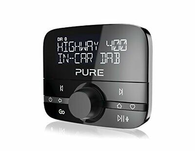 Pure Highway 400 In-Car DAB+/DAB Digital Radio FM Adapter with Bluetooth for