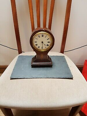 Vintage Balloon Mantle Clock For Restoration