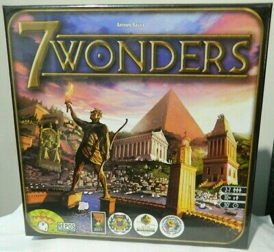 7 Wonders SEVEN WONDERS Board Game ~ ((PRIORITY SHIPPING)) NEW