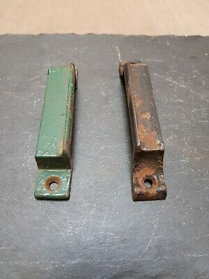 2 Victorian Cast Rim Lock Keeps