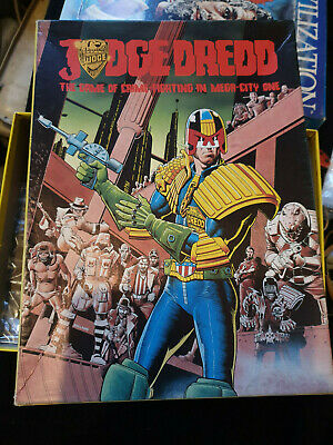 Judge Dredd Board Game (1982 Games Workshop 2000 A.d Role Playing Game)