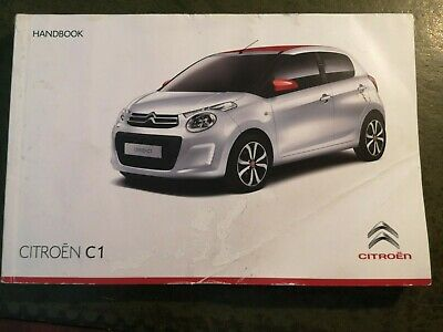 CITROEN C1  OWNERS MANUAL / HANDBOOK    2014 2018  /  251 Pages