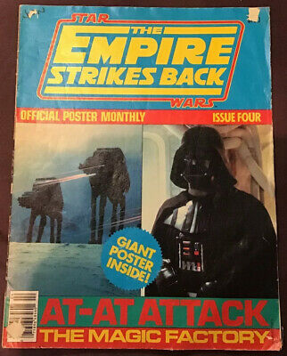 The Empire Strikes Back Offficial Poster Monthly Issue 4